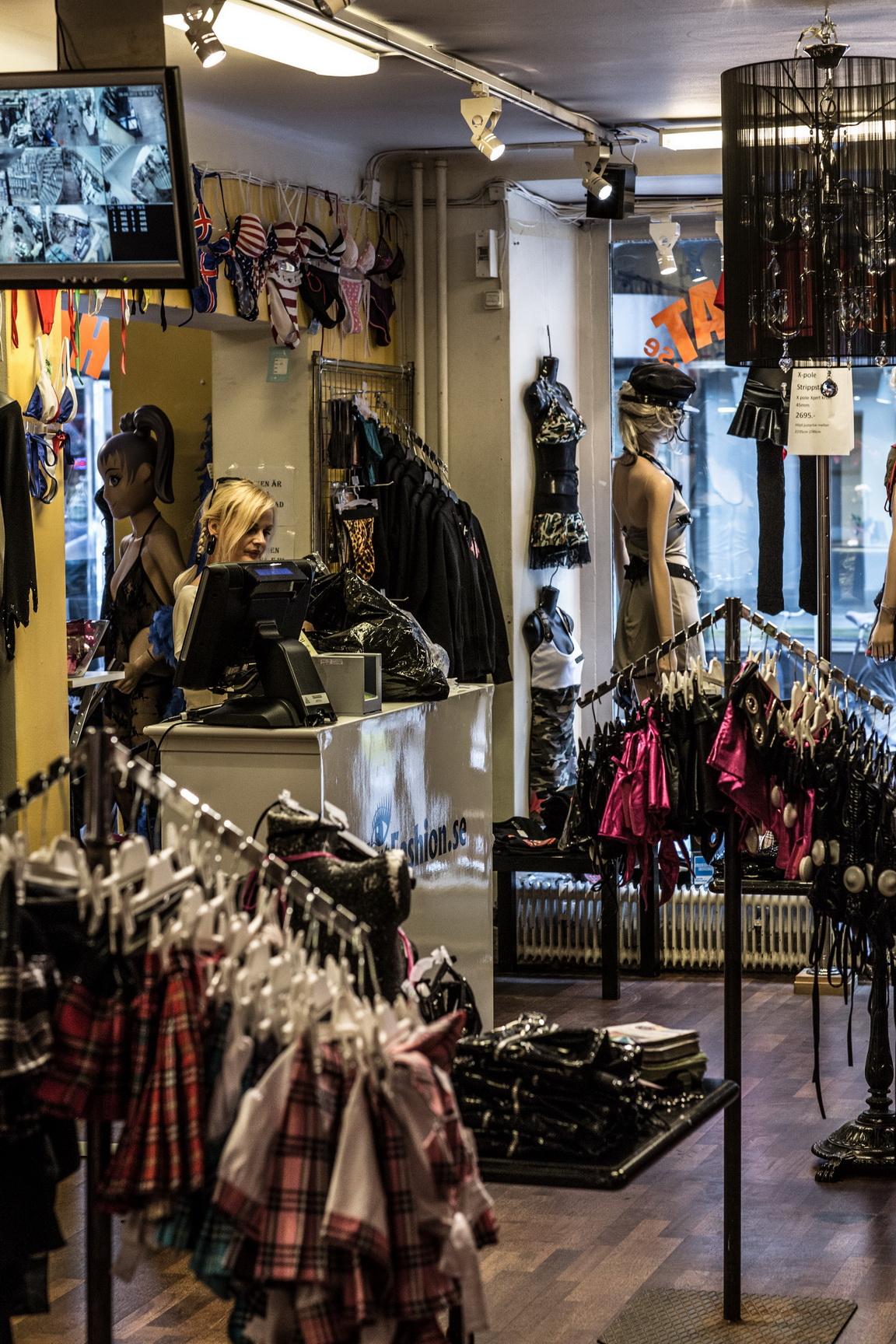 porno xxx sexiga underkläder stockholm butik